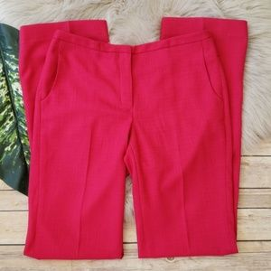 Elie Tahari Pink Polyester Blend Trouser Pants